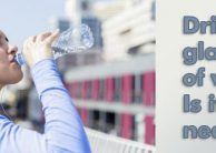 Drink Eight Glasses of Water Per Day – Is It Necessary?